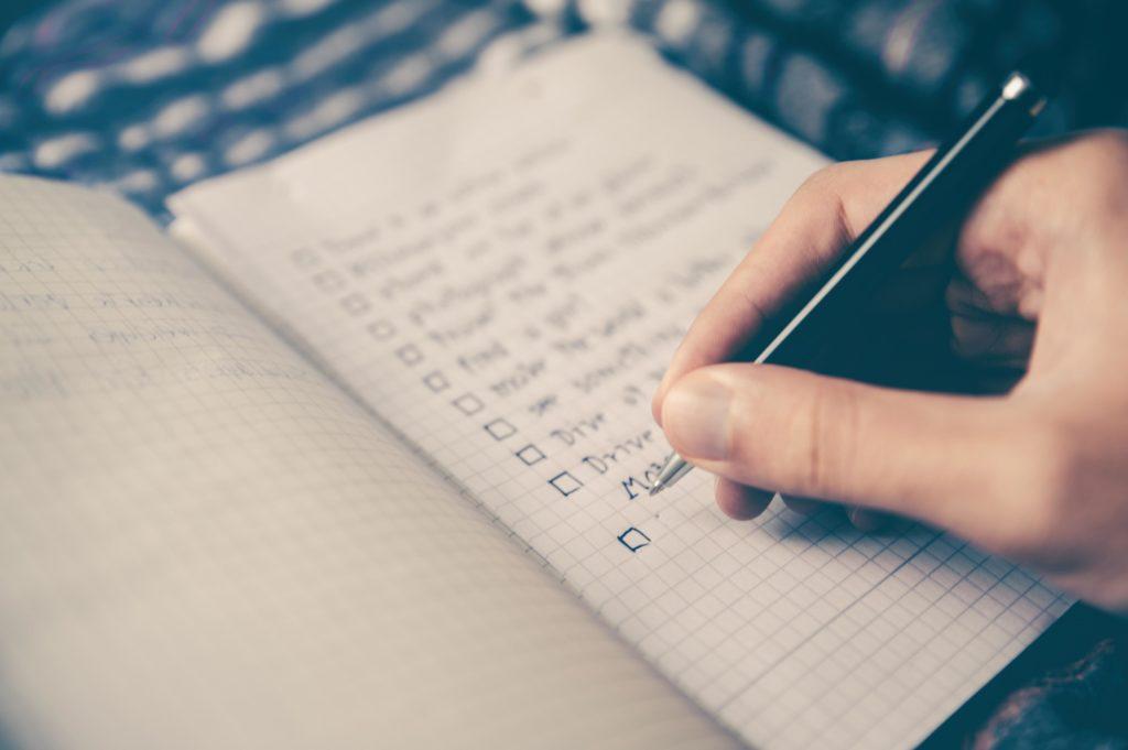 créer une bucket liste en couple